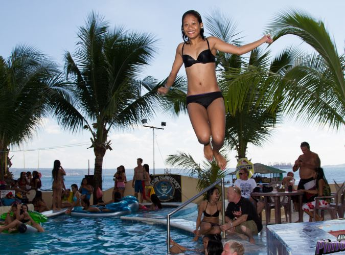 Subic Bay Pool Party